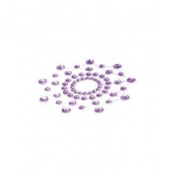 Nakładki na sutki Bijoux Indiscrets - Mimi, fioletowe (3)