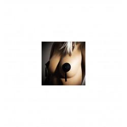 Nakładka na sutki Bijoux Indiscrets - Burlesque Pasties, czarne (2)