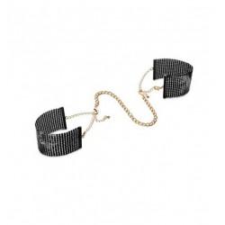 Kajdanki Bijoux Indiscrets - Désir Métallique Handcuffs (czarne) (2)