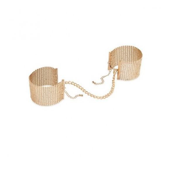 Kajdanki Bijoux Indiscrets - Désir Métallique Handcuffs (złote)
