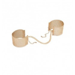 Kajdanki Bijoux Indiscrets - Désir Métallique Handcuffs (złote) (2)