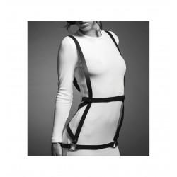 Uprząż Bijoux Indiscrets - MAZE Arrow Dress Brown (2)