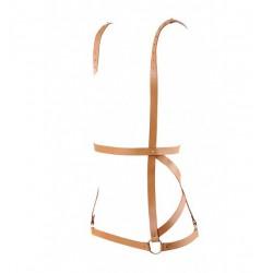 Uprząż Bijoux Indiscrets - MAZE Arrow Dress Brown (3)