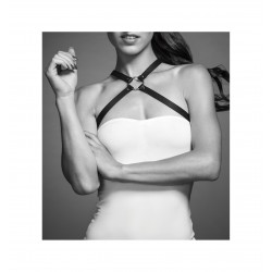 Uprząż Bijoux Indiscrets - MAZE Chest Thin Harness Black