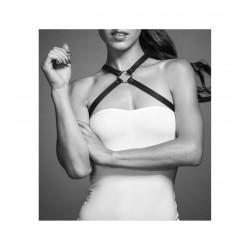Uprząż Bijoux Indiscrets - MAZE Chest Thin Harness Brown (2)
