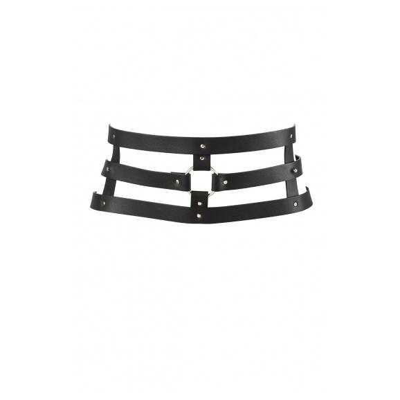 Szeroki Pas Bijoux Indiscrets - MAZE Wide Belt Black