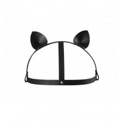 Kocie uszy Bijoux Indiscrets - MAZE Head Piece Black