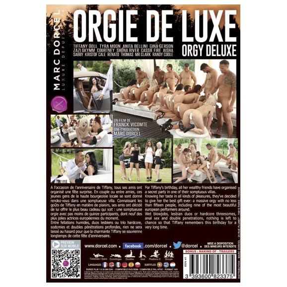 DVD Dorcel - Orgy Deluxe