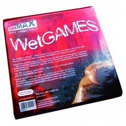 Prześcieradło JoyDivision SexMAX WetGAMES 180 x 220 (czerwone) (3)