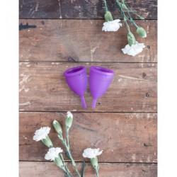 Lunette Menstrual Cup Violet - model 1