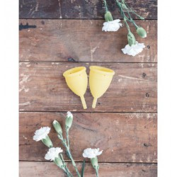 Lunette Menstrual Cup Yellow - model 1