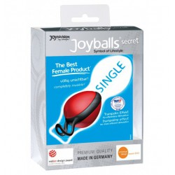 Kulka gejszy Joyballs Secret Single (czerwień/czerń) (3)