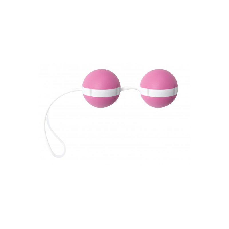 Kulki gejszy Joyballs Bicolored (róż/biel)