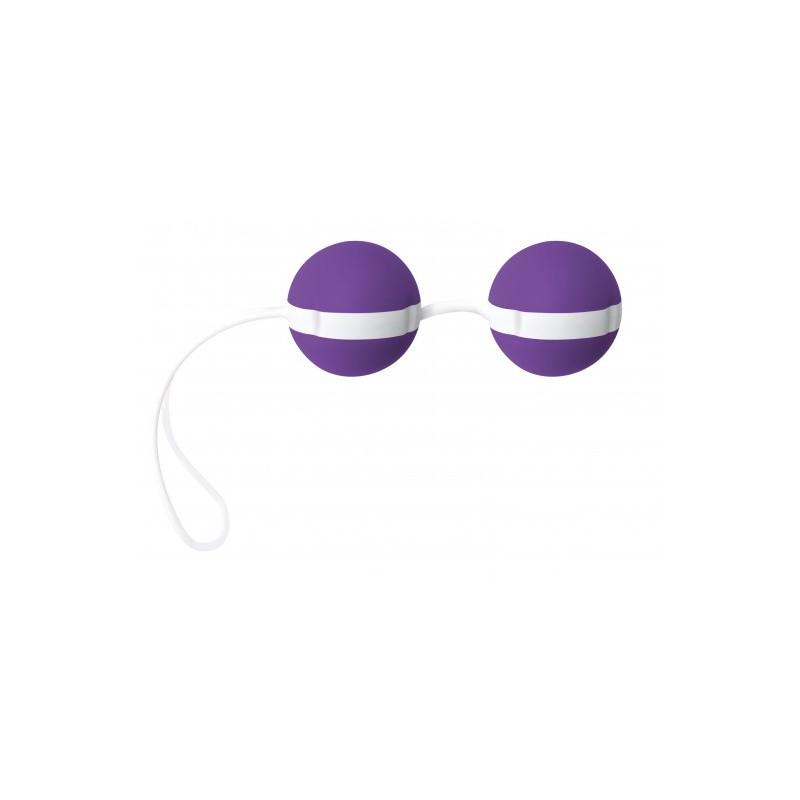 Kulki gejszy Joyballs Bicolored (fiolet/biel)