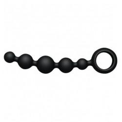 Korale waginalne Joyballs Wave (krótkie, czarne) (5)