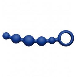 Korale waginalne Joyballs Wave (krótkie, niebieskie) (2)