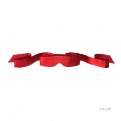 Opaska na oczy LELO - Intima, czerwona (2)