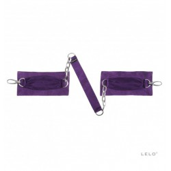 Opaski do krępowania LELO - Sutra, fioletowe