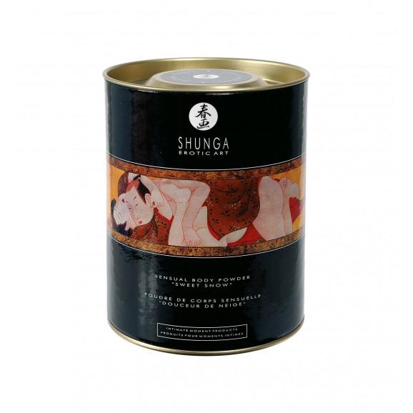 Jadalny puder do ciała Shunga - Raspberry Feeling Body Powder 225 g