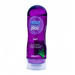 Żel intymny do masażu Play 2w1 Fiolet aloes 200ml