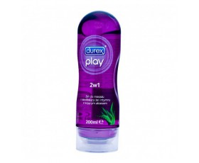 Żel intymny do masażu Play 2w1 Fiolet aloes 200ml