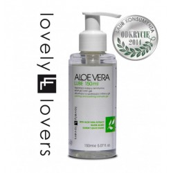 Lubrykant Lovely Lovers Aloe Vera Lube 150 ml - Żel Intymny (4)