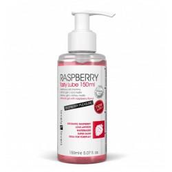 Lubrykant jadalny Lovely Lovers Raspberry Tasty Lube 150 ml - Żel Oralny