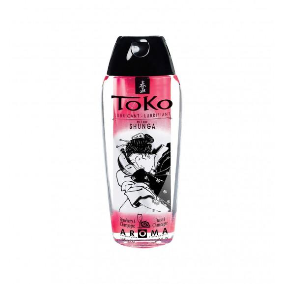 Lubrykant Shunga - Toko Lubricant Strawberry 165 ml