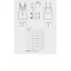 Medica sukienka kostium 5-częściowy + stetoskop S/M (4)