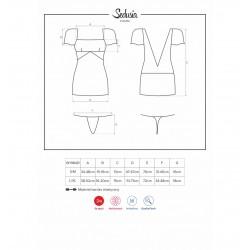 Sedusia koszulka czarna S/M (8)