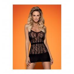 D605 sukienka czarna S/M/L (2)
