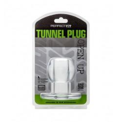 Tunel analny Perfect Fit - Ass Tunnel Plug rozmiar L (przeźroczysty) (4)