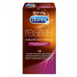 Durex Real Feel dodatkowo nawilżone (1 op. / 10 szt.)
