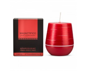MAGNETIFICO Candle Sweet Strawberries - Afrodyzjakowa Świeca