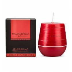 MAGNETIFICO Candle Sweet Strawberries - Afrodyzjakowa Świeca (2)