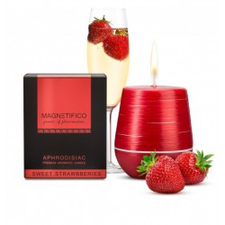 MAGNETIFICO Candle Sweet Strawberries - Afrodyzjakowa Świeca (3)