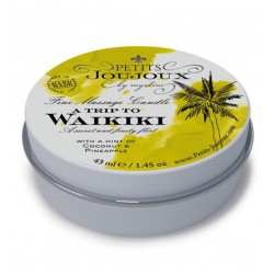 Petits Joujoux Fine Massage Candles - A trip to Waikiki Beach (5 x 33 g) (3)