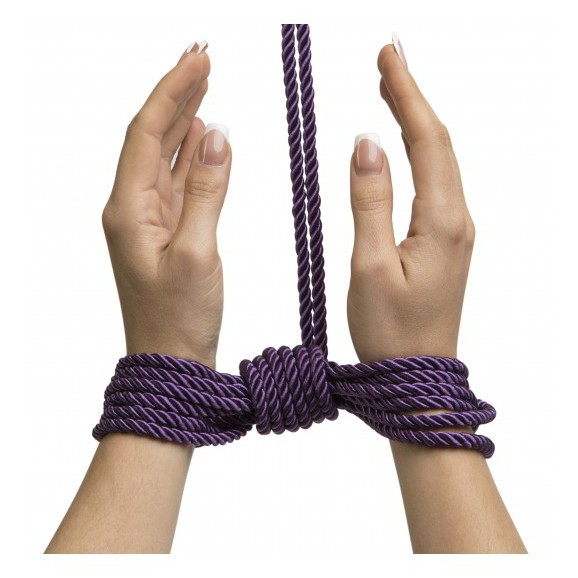 Sznur Fifty Shades Freed - Want to Play? 10m Silky Bondage Rope