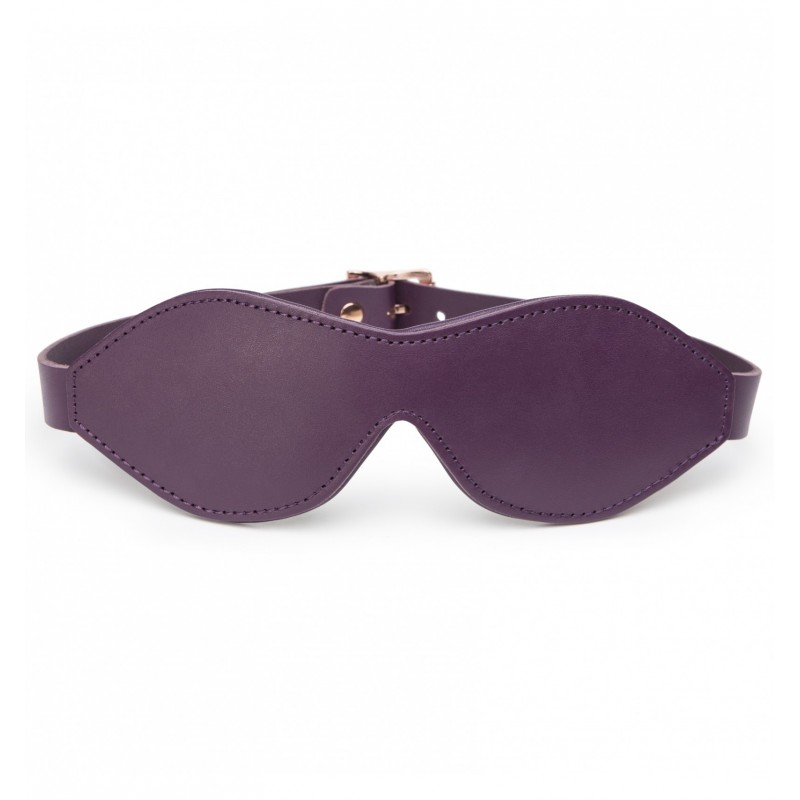 Opaska na oczy Fifty Shades Freed - Cherished Collection Leather Blindfold