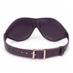 Opaska na oczy Fifty Shades Freed - Cherished Collection Leather Blindfold (3)