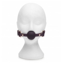 Knebel Fifty Shades Freed - Cherished Collection Leather Ball Gag (6)