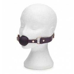 Knebel Fifty Shades Freed - Cherished Collection Leather Ball Gag (7)
