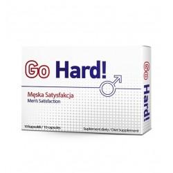 Go Hard - 10 kapsułek - silny środek erekcyjny